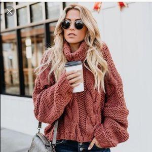 Vici Cuddle Weather Knit Sweater